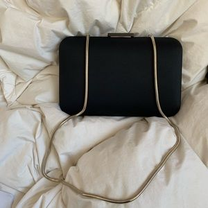 Black Zara purse